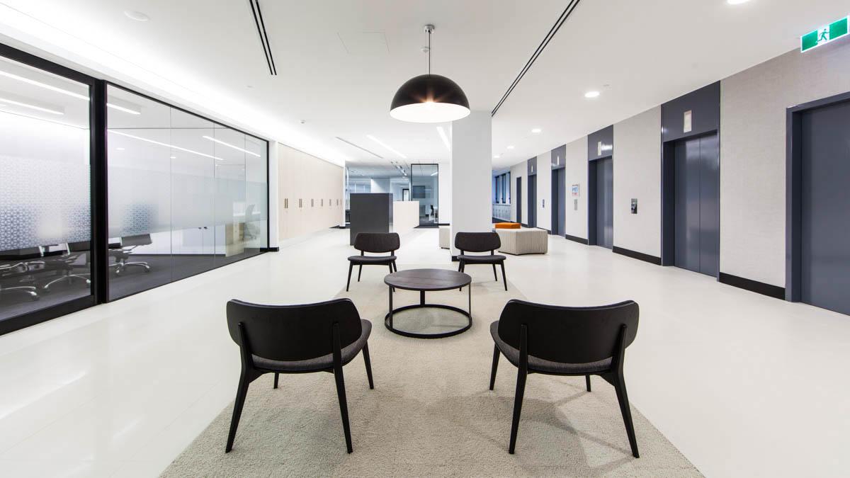 IA Design - Interior Architecture - Credit Suisse