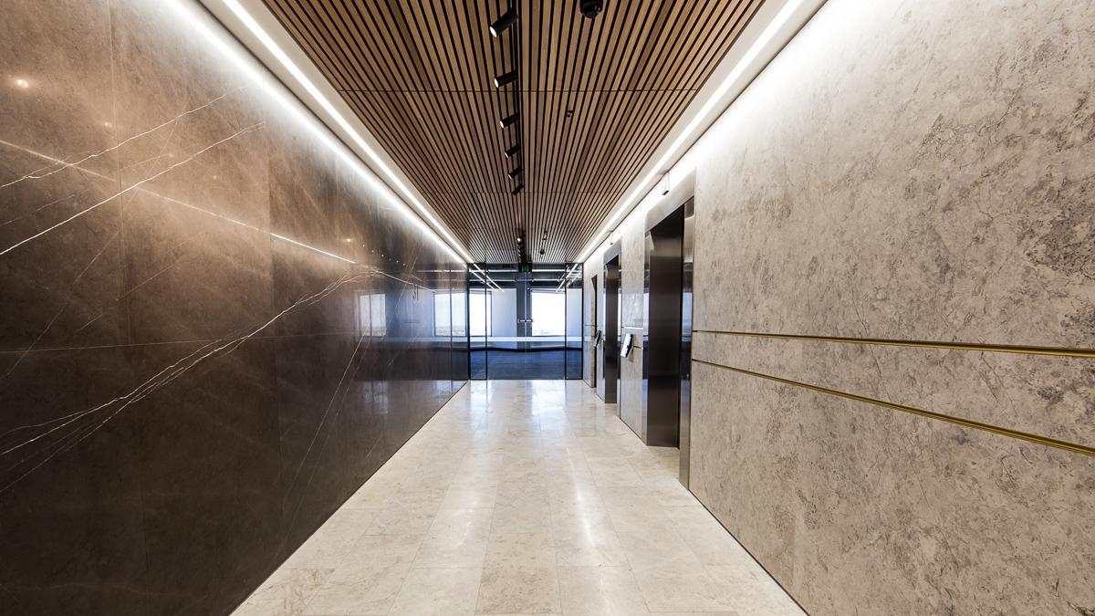 IA Design - Interior Design Architecture - Level 31 Allendale Square Bathroom Upgrade